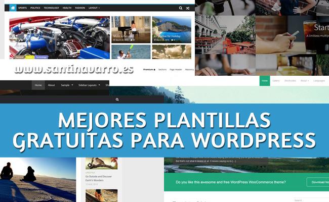 Las 10 mejores plantillas para wordpress gratis responsive - Plantillas para la pared ...