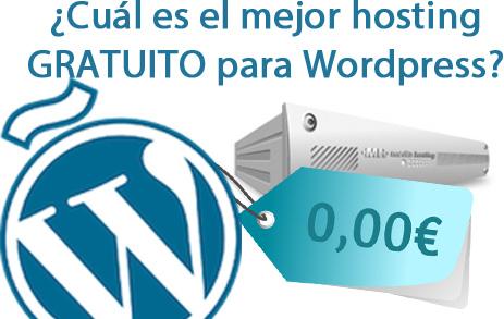 El mejor hosting gratuito SIN PUBLICIDAD para Wordpress
