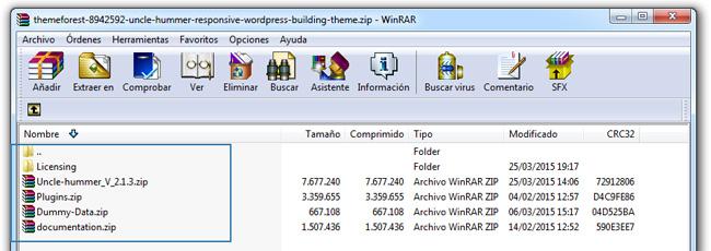 Como instalar un tema de Wordpress manualmente y por FTP