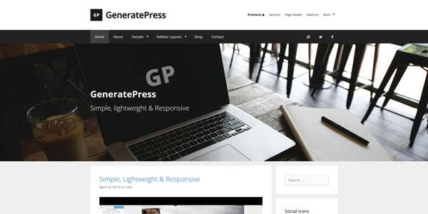 Las 10 Mejores Plantillas para Wordpress Gratis Responsive 2017