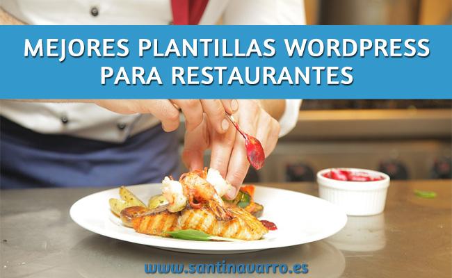 10 Mejores Plantillas Wordpress para Restaurantes