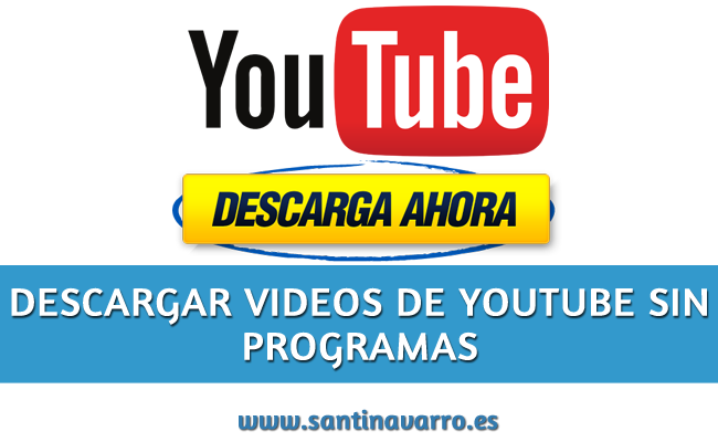 Como Descargar videos de Youtube Sin Programas, Online y Gratis